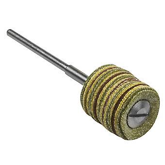 Roda pendente livre de fiapos de camurça sintética, polonês alto, diâmetro de 15mm