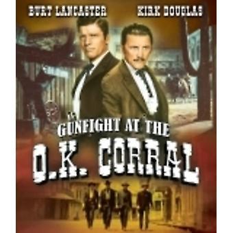 Tiroteio em importação EUA Okey Corral [Blu-ray]
