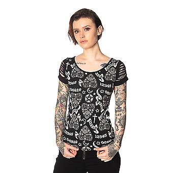 Zakazana alternatywa - teen goth hello goodbye - t-shirt