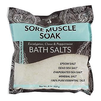 Touche apaisante Tension Relief Bath Sels Sore Muscle Soak