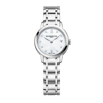 Baume & Mercier BM0A10490 Ρολόι χειρός με διαμαντένιο σετ Classima