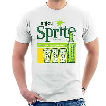 Enjoy Sprite 1960s Vintage Soft Drink Men's T-Shirt