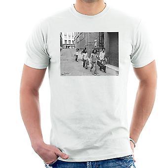 Bob Marley en arrivant à Birmingham Odeon 1975 T-Shirt homme