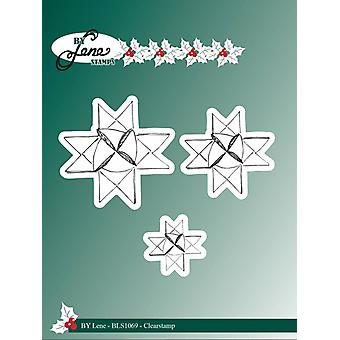 By Lene Clearstamps Woven Stars