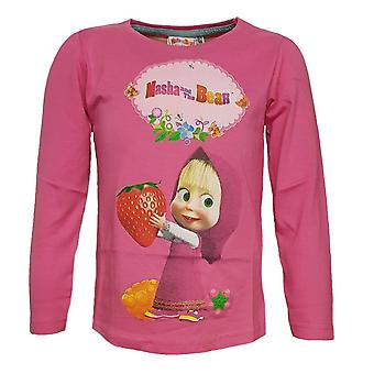 Masha and the bear girls t-shirt