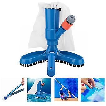 Vacuum Swimming Pool Cleaning Tool - Tip Pond Fountain Vacuum Brush Cleaner
