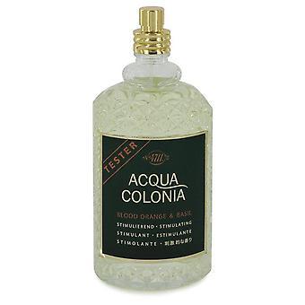 4711 Acqua Colonia Blood Orange & Basil Eau De Cologne Spray (Unisex Tester) By Maurer & Wirtz 5.7 oz Eau De Cologne Spray