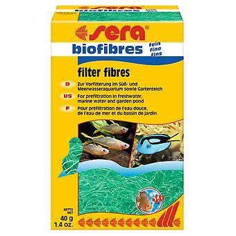 Sera Biofibras Finas para Materiaali de Filtrado