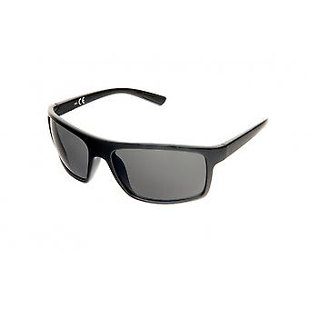 Solglasögon Unisex svart/grön (H61)