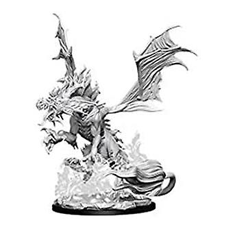Pathfinder Deep Cuts Unpainted Miniatures Nightmare Dragon