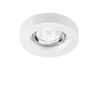 Ideal Lux Blues - 1 Light Round Recessed Downlight (3 Pack) Bianco, GU10