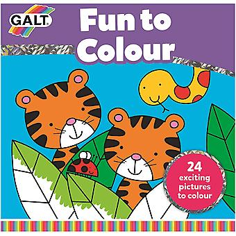 Galt Fun to Color Book