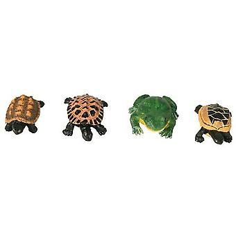 Trixie Frogs and turtles (single units - color range) (Fish , Decoration , Ornaments)
