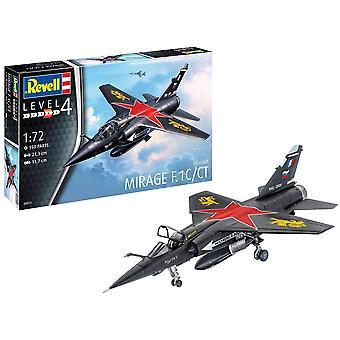 Revell 4971 Mirage F.1C Aircraft Model Kit