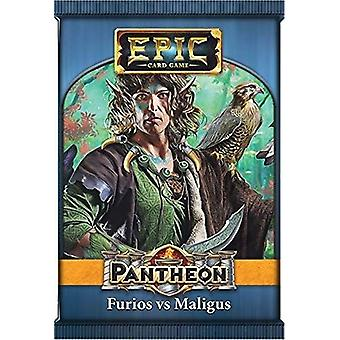 Furios vs Maligus Epic Pantheon Expansion Pack For Card Game