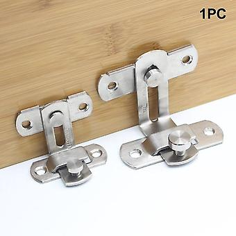 Anti-theft Cabinet Fitting Hasp Latch, Hotel Sliding 90 Degree Door Lock