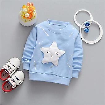 Baby Girls / Boys T-shirt Long Sleeve Star Pattern Sport T-shirts For Girls Cotton Children Clothes