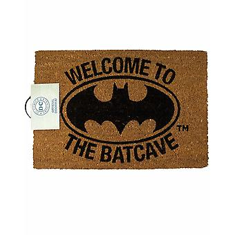 DC Comics Batman Ovimatto Tervetuloa Batcave Home Sisustus lahjat yksi koko