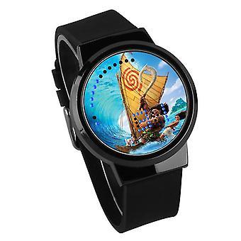 Impermeable Luminoso LED Digital Touch Reloj - Moana #14