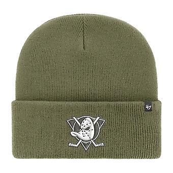 47 Brand Beanie Winter Hat - HAYMAKER Anaheim Ducks moss