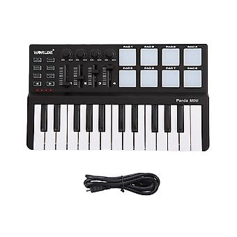 Portable Midi Keyboard Controller Mini Usb Pads Multi Styles Option