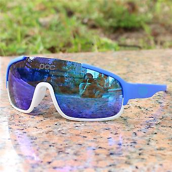 Airsoftsports Polarizado Blade Cycling Sunglasses, Men Sport Road Mtb Mountain