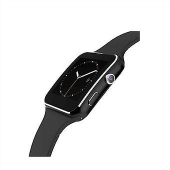 Men's Smart Touch Screen Watch Tuki Kamera Tf Vedenpitävä Bluetooth Rannekoru