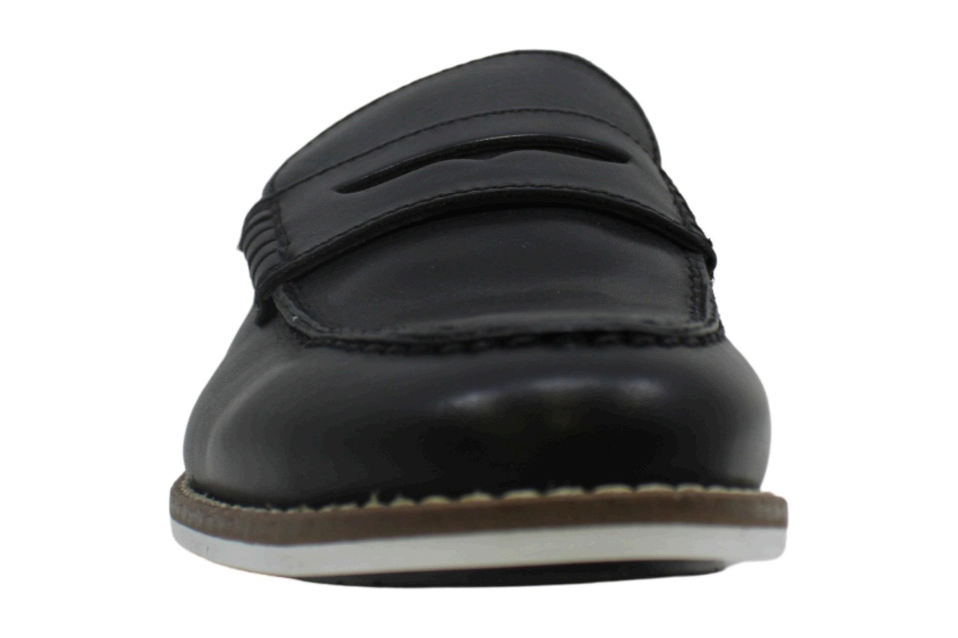 Alfani Mens Wagner Leather Closed Toe Slip On Shoes