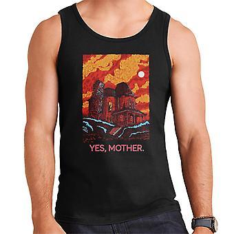 Psycho Bates Home Yes Mother Men's Vest