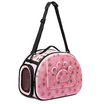 Outdoor Portable Pet Breathable Shoulder Bag - Folding Travel Backpack Cats,