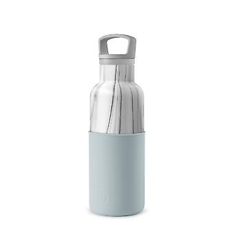 Marble Cumulus Thermos Water Bottle