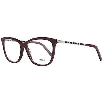 Burgundy Women Optical Frames