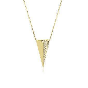 Collar de oro Triángulo