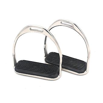 Horse Riding Stirrup Equestrian Stainless Steel Anti-slip Pad High Quality