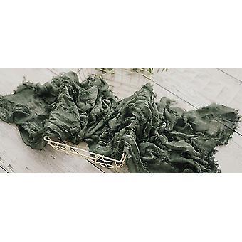Jacquard Scarf, Newborn Baby Cheesecloth Wrap
