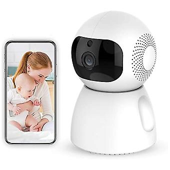 Ndoor Wireless Smart Home Camera With Night Vision,baby Monitor Home Wifi Security Camera Sound/motion Detection Available Monitor Baby/elder/pet Comp