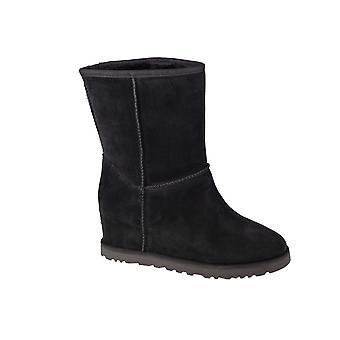 UGG W Classic Femme Lyhyt 1104611BLK universaalit talvi naisten kengät