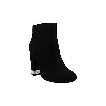Xoxo Womens Yardria Suede Closed Toe Ankle Fashion Boots