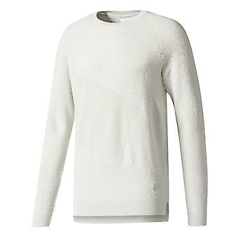 アディダス×ウィングス+ホーンパッチクルースウェットシャツアイボリージャンパーBK0233