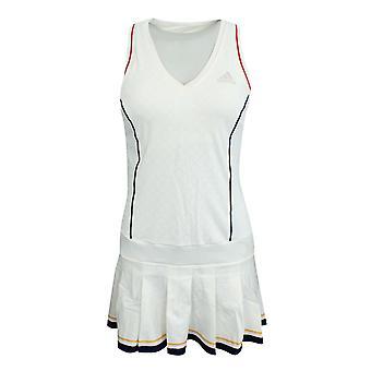 أداس Pharrell وليامز NY الصلبة النساء للتنس اللباس شورت أبيض BQ9112 A94B