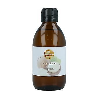 Kasviöljy Ensimmäinen kylmäpuristettu Macadamia 250 ml