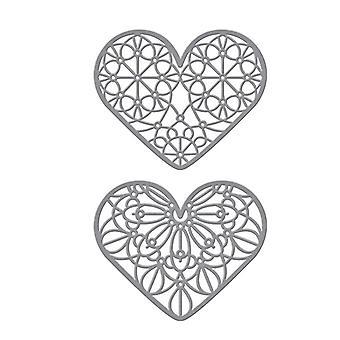 Spellbinders Forever Love Hearts Geätzt Stirbts