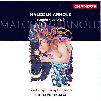 M. Arnold - Malcolm Arnold: Symphonies 5 & 6 [CD] USA import