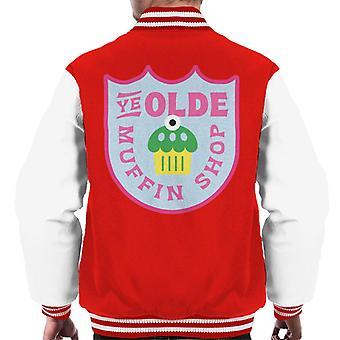 Shrek Ye Olde Muffin Shop Men's Varsity Jacket