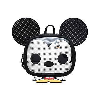 Mickey Mouse Mini Rugzak Pop! Pin Trader nieuwe officiële Disney Loungefly Zwart