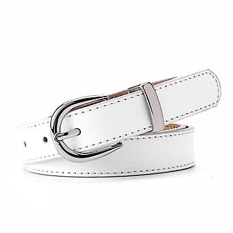 Luxury Brand Leather High-quality Fashion Alloy Buckle Belts/women
