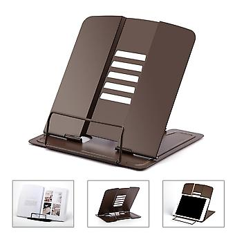 Adjustable 5 Angles Portable Metal Book Stand Document Holder