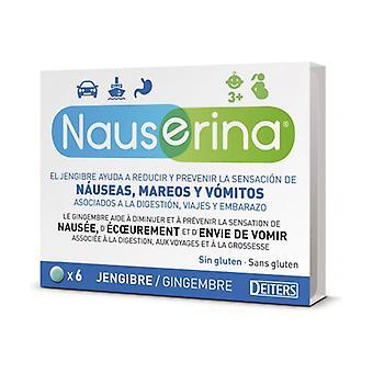 Nauserina 6 tablets
