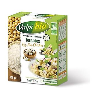 Organic Chickpea Rice Twists 250 g
