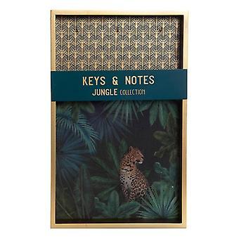 Nyckelskåp Dekodonia Jungle (25 x 4 x 40 cm)